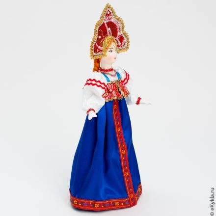 Doll in Russian girls costume 32cm
