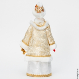 Doll Snow Maiden with a bell 28cm