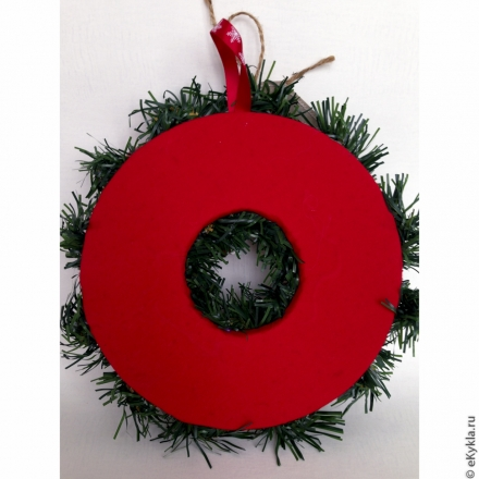Christmas wreath 22cm
